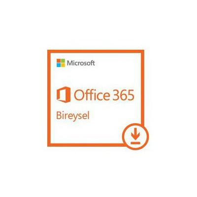 Microsoft Office 365 Bireysel - Elektronik Lisans Ofis Yazılımı