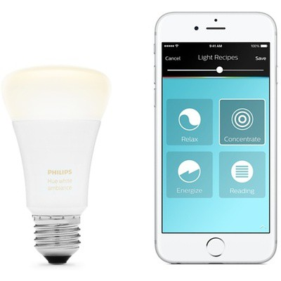 Philips Hue White Ambiance 9.5W A60 E27 Tek Ampul