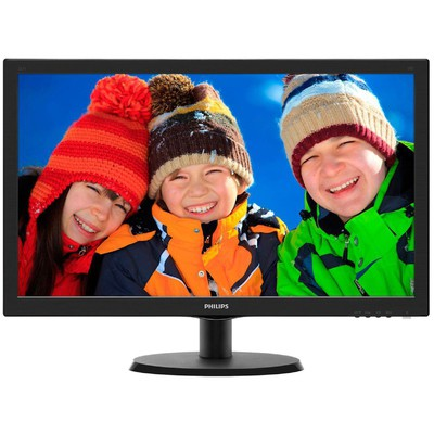 "Philips 21.5"" 223v5lsb/00 5ms Vesa Siyah Led Monitör"