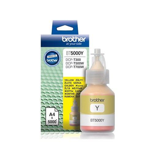Brother Bt5000y Sarı 5000 Sayfa  Dcp-t300 Dcp-t500w Dcp-t700w Mfc-t800w Kartuş