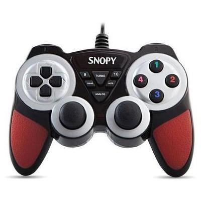 Snopy Sg-305 Pc Için Usb Bağlantılı 12 Tuşlu Titreşimli Gamepad