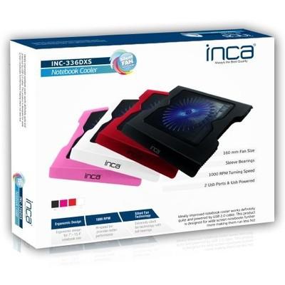 Inca Inc-336dxb Inca Inc-336dxb Led Fanlı Hight Cool Sessiz Usb  Beyaz Notebook Soğutucu
