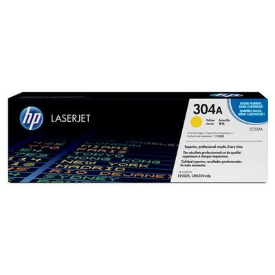 HP 304A CC532A Sarı Toner