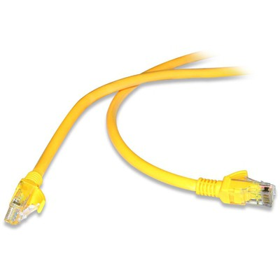 Flaxes FNK-605S FLAXES FNK-605S 5MT CAT6 (PATCH) NETWORK KABLOSU SARI Network Kablosu