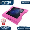 Inca Inc-336dxp Inc-336dxp Led Fanlı Hight Cool Sessiz Usb  Pembe Notebook Soğutucu