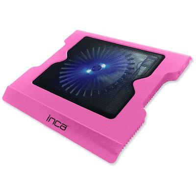 Inca INC-336DXP LED Fanlı Hight Cool Sessiz USB  Pembe Notebook Soğutucu
