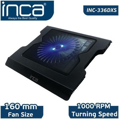 Inca Inc-336dxs Inc-336dxs Led Fanlı Hight Cool Sessiz Usb  Siyah Notebook Soğutucu