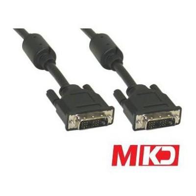 MKD Mk-dv02 Mk-dv02 Dvi 24+1 M/m (erkek-erkek) Kablo 1.5 Metre HDMI Kablolar