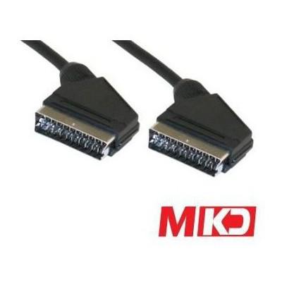 MKD Mk-sc03 Mk-sc03 High End Audio Video Scart Kablo 3 Metre Ses ve Görüntü Kabloları
