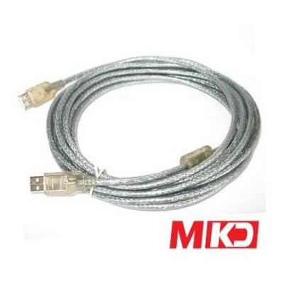 MKD Mk-us03 Mk-us03 Usb 2.0 Şeffaf Printer Kablo 5 Metre Yazıcı Aksesuarı
