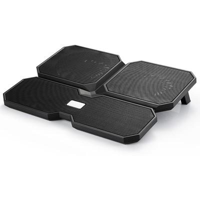 DeepCool Multı_core_x6 Deep Cool Multı Core X6 140x15mm/100x15mm 4 Fan 2 Usb Port Notebook Stan Notebook Soğutucu