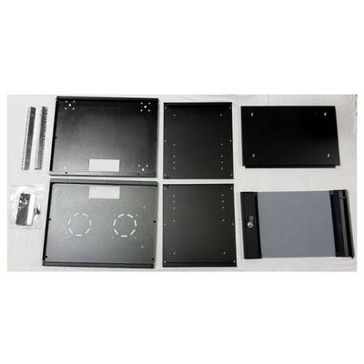 "Dorax Dr-7507-ed 7u 19"" Wallsoho Duvar Tipi Kabinet (550x400) + Sabit Raf Bileşen Aksesuarı"