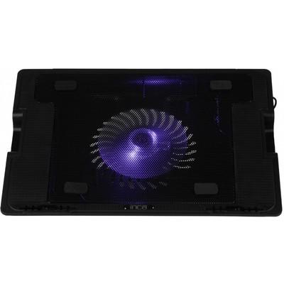 Inca INC-341FXS Ergonomik USB Sessiz Notebook Stand+Soğutucu Siyah Notebook Soğutucu