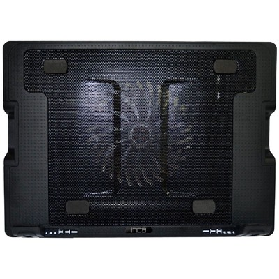 Inca Inc-341fxs Inca Inc-341fxs Ergonomik Usb Sessiz Notebook Stand+soğutucu Siyah Notebook Soğutucu