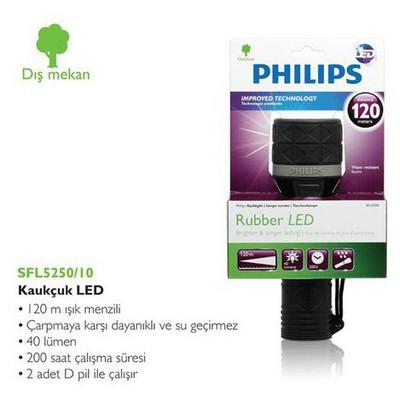 Philips Sfl5250/10 Led El Feneri Fener & Işıldak
