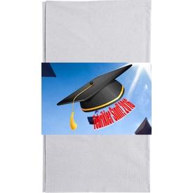 Parti Paketi Mezuniyet Kepi Kağıt Peçete Kuşağı, 20cm 16'lı Parti Peçetesi