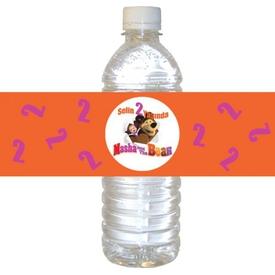 Parti Paketi Masha And The Bear Su Şisesi Etiketi, 21cm 16'lı Parti Bardağı