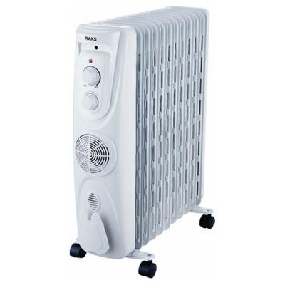 Raks Ilıca Yağlı Radyatör 11 Dilim 2300 W Fanlı Isıtıcı