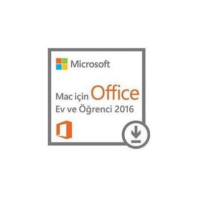 Microsoft Office Mac Ev Ve Öğrenci 2016 - Elektronik Lisans Ofis Yazılımı