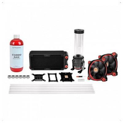 Thermaltake Cl-w128-ca12re-a Pacific Rl240mm D5 Hard Tube Kırmızı Led Riing Fanlı Custom Sıvı Soğutma Kiti Bileşen Aksesuarı