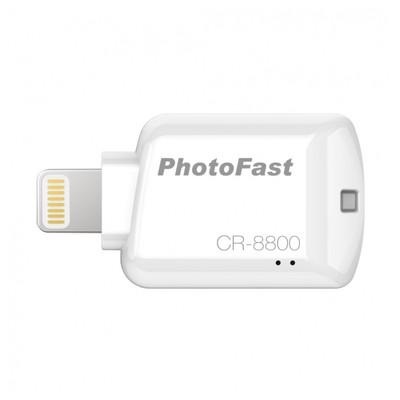 PhotoFast Cr-8800 Ios Mikrosd  - Beyaz Kart Okuyucu