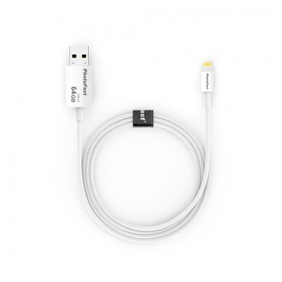 PhotoFast Photo Backup Cable 64gb Lightning / Usb 3.0 Şarj Kablolu I-flashdrive Şarj Cihazları