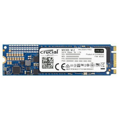 Crucial 275gb MX300 M.2 SSD - CT275MX300SSD4
