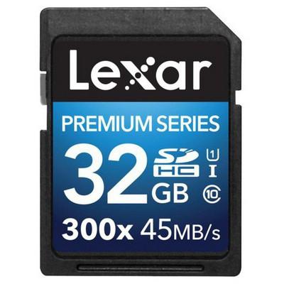 Lexar 32gb Sdhc 300x Premium Iı Lsd32gbbeu300 SDHC