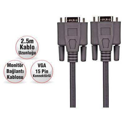 Goldmaster Cab-1216 Vga Kablosu VGA Kablolar