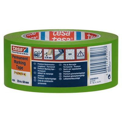 Tesa Yer Işaretleme Ikaz Bandı Yeşil 33 M X 50 Mm Paketleme Malzemesi