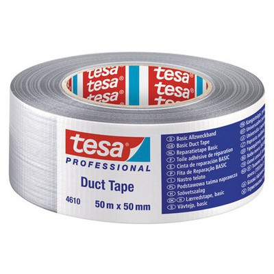Tesa Tamir Bandı Basic Duct 50 m x 50 mm Paketleme Malzemesi