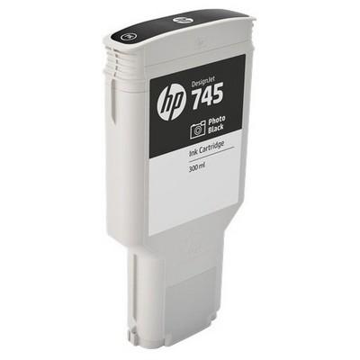 HP F9k04a (745) Fotograf Sıyahı 300 Ml Geniş Format Mürekkep u Kartuş