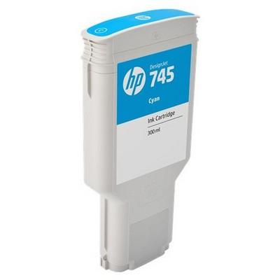 HP F9k03a (745) Cyan 300 Ml Geniş Format Mürekkep u Kartuş