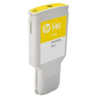 HP F9k02a (745) Sarı 300 Ml Geniş Format Mürekkep u Kartuş