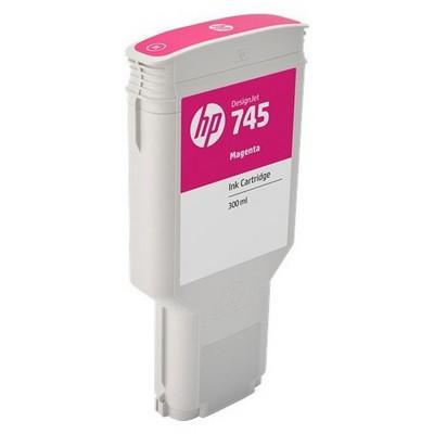 HP F9k01a (745) Macenta 300 Ml Geniş Format Mürekkep u Kartuş