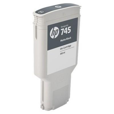 HP F9k05a (745) Mat Siyah 300 Ml Geniş Format Mürekkep Kartuşu