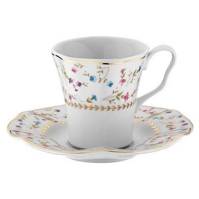 Kütahya Porselen Nil 8529 Desen Kahve Takımı Çay Seti