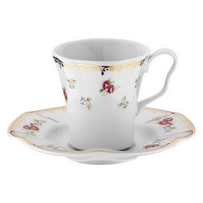 Kütahya Porselen Nil 8581 Desen Kahve Takımı Çay Seti