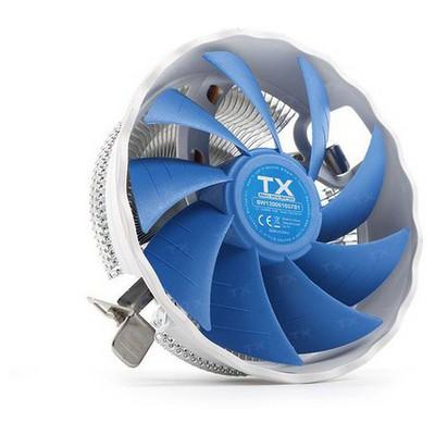 TX Ccsw120 Silent Wind 120 Intel 775/11150/1151 Am2/am2+/am3/am3+ Uyumlu Işlemci Fan