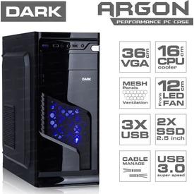Dark Dkchargon500 500w Argon 3xusb(1xusb3.0-2xusb2.0) Atx Oyuncu Kasa