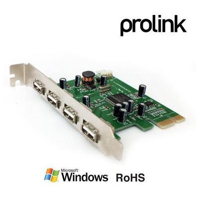 Prolink Peu2410 Pcıe Usb 2.0 4+1 Port Kart Network Kartı