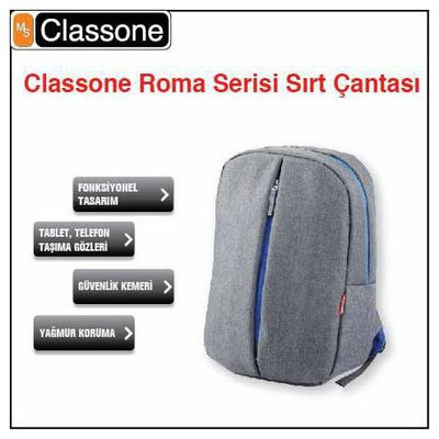 classone-bp-m304-classone-roma-serisi-medium-sirt-cantasi-13-14-uyumlu-gri