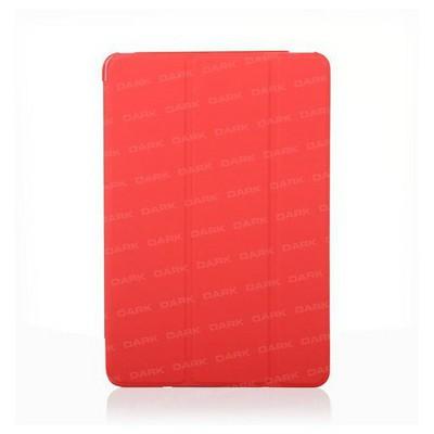 Dark Dk-ac-ıpm4ksdbrd Ipad Mini4 Ön Ve Arka Akıllı Deri Kılıf Ve Stant (kırmızı) Tablet Kılıfı
