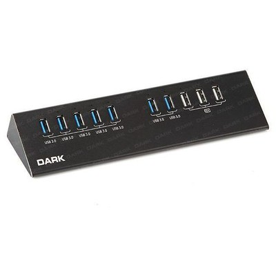 Dark Dk-ac-usb3100 Connect Master 7+3 Hızlı Şarj Adaptörlü Usb3.0 Hub USB Aksesuarı
