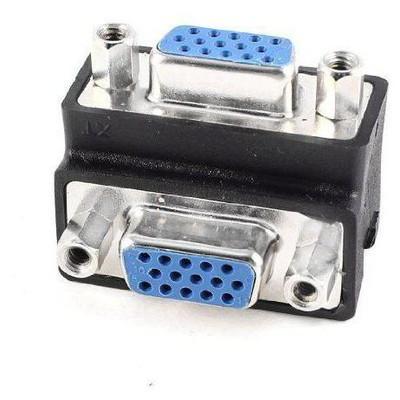 Dark DK-HD-AVGAX92 ÇEV VGA/VGA Dişi 90° Dirsek Dönüştürücü VGA Kablolar