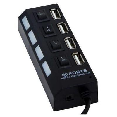 S-Link Sl-445 4 Port Usb 2.0 Siyah Usb Hub USB Aksesuarı