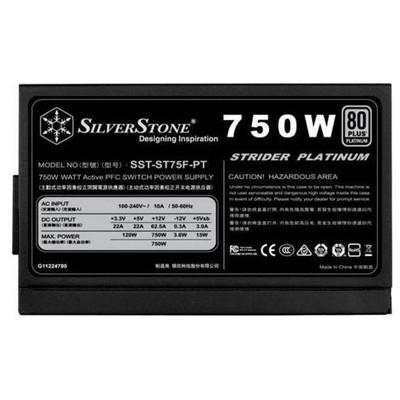 Silverstone Strider Platinum 750w Güç Kaynağı (SST-ST75F-PT)