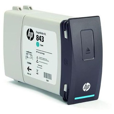 HP C1q66a 843c 400-ml Cam Göbeği Ink Cartridge