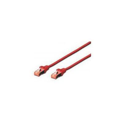 Digitus BC-S60025R 0,25m CAT6 SFTP/PIMF Patch 0su Kırmızı USB Kablolar