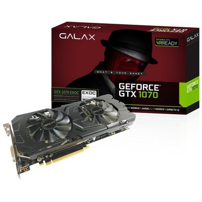 Galax GeForce GTX 1070 EXOC 8GB GDDR5 256Bit Ekran Kartı